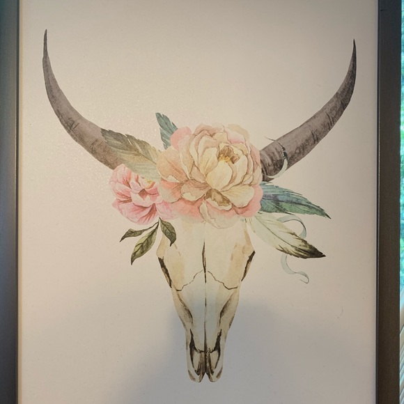 Cow Skull decor